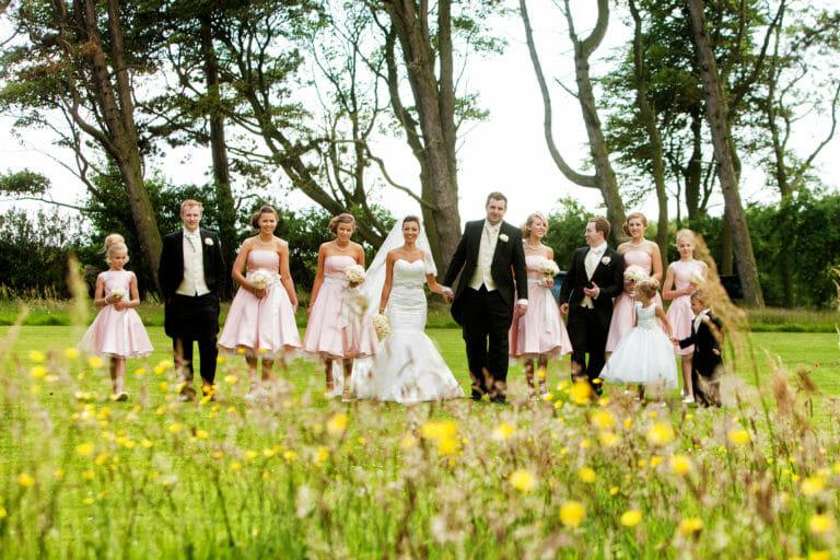 Newton Hall Wedding of Cheryl & Rick