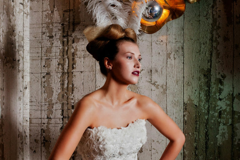 Wedding Dress Shoot at Seaham Hall for ETC Magazine