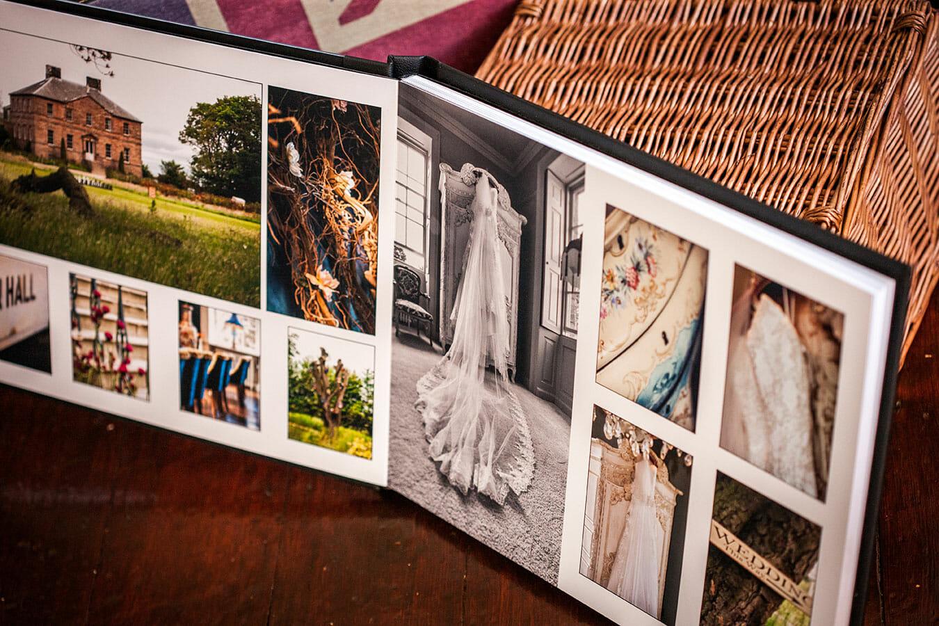making a photobook design