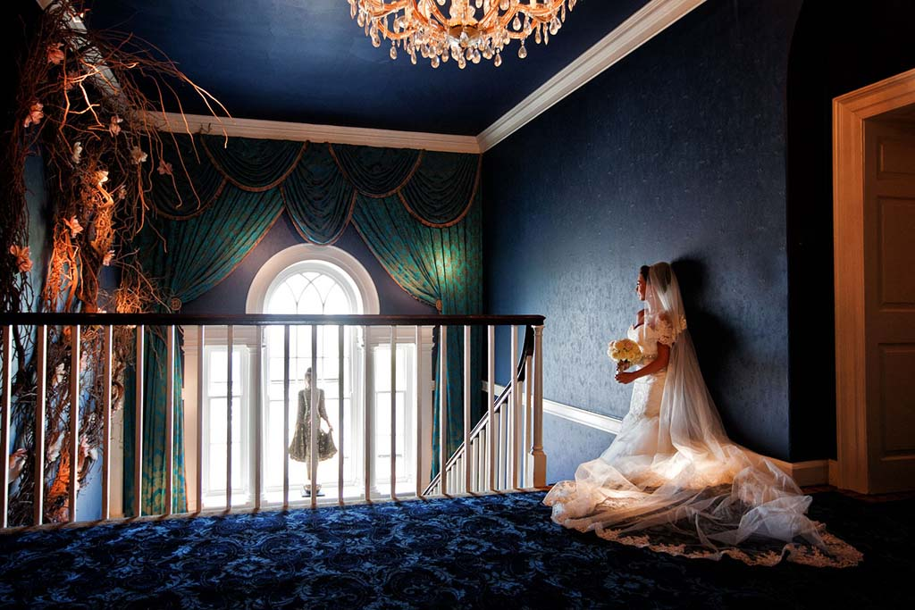 wedding photographer newcastle newton hall bride