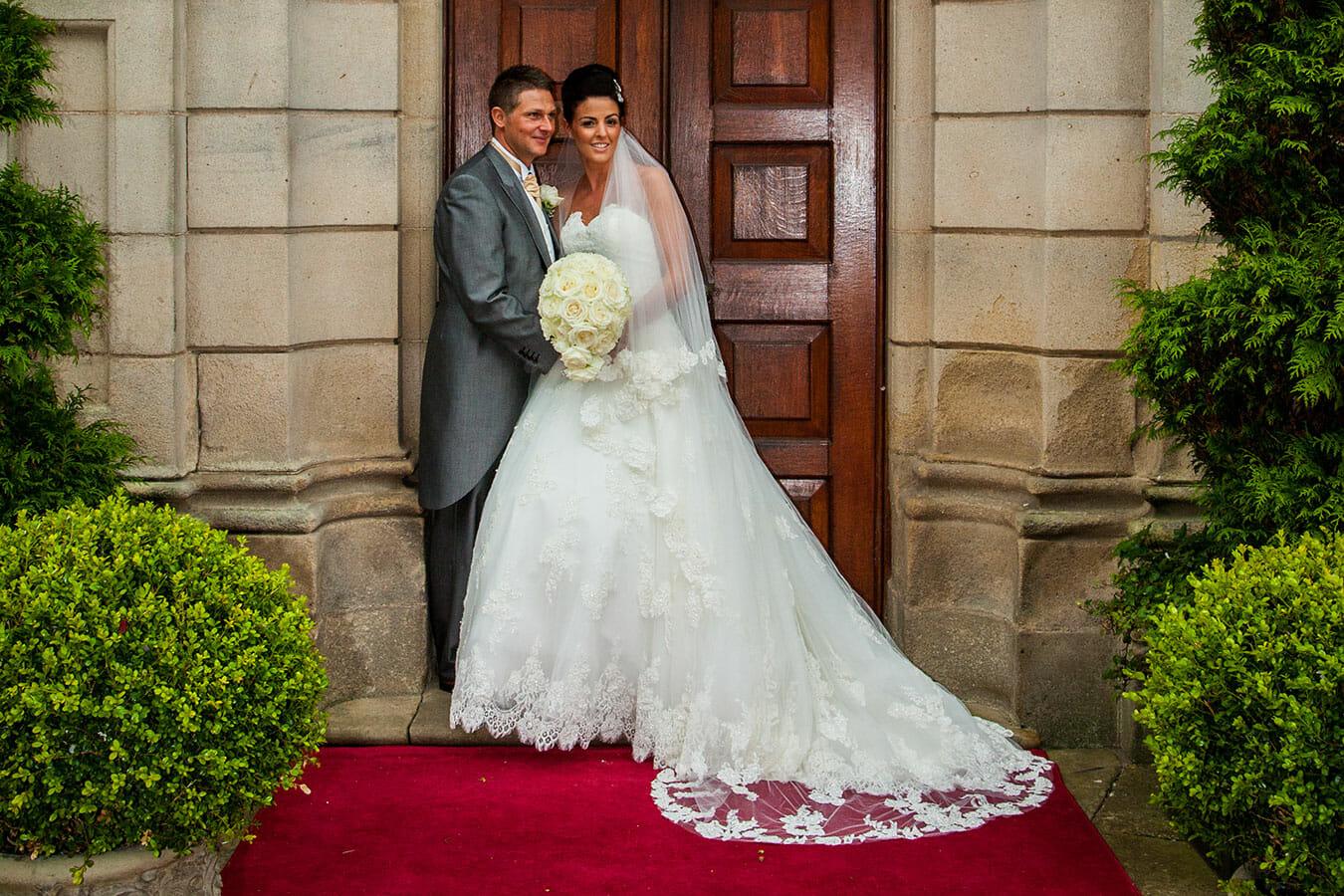 wynyard hall wedding of amy and jasom