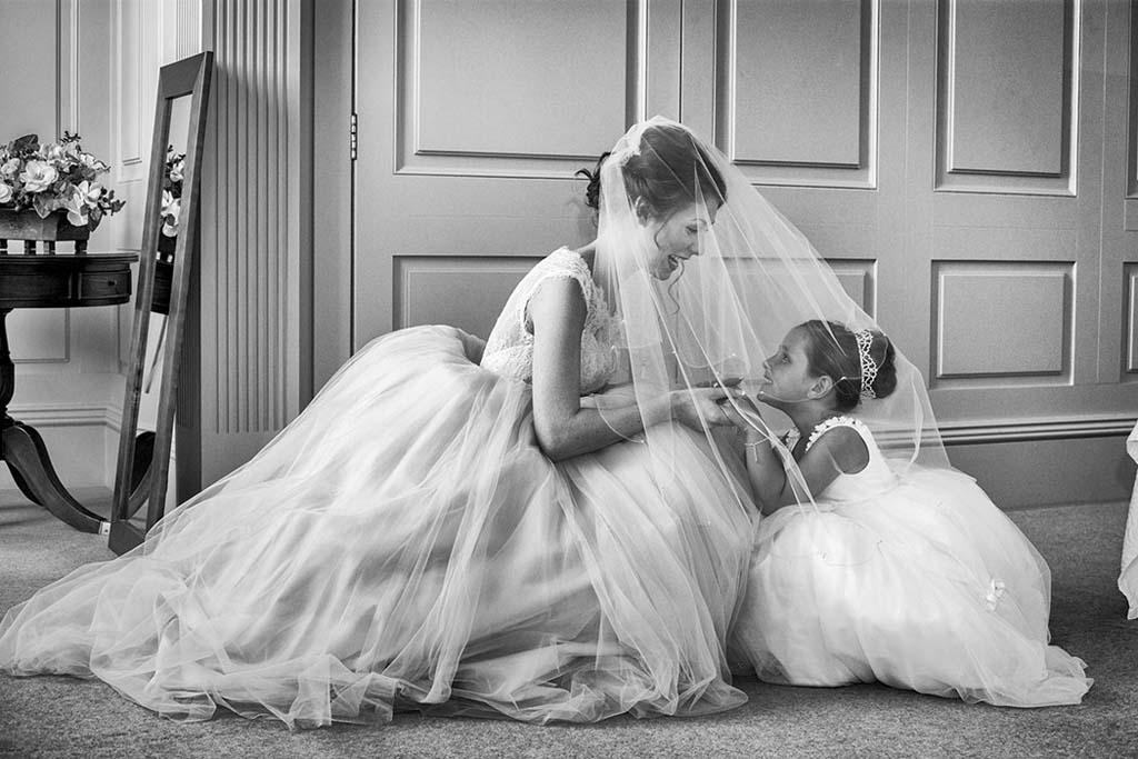 North East wedding photographers Focal Point Photography at Wynyard Hall Wedding Spring