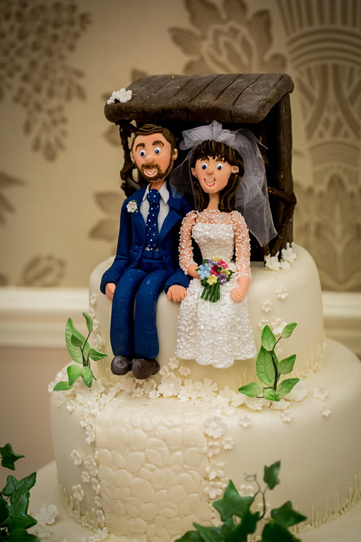 wedding cake gisborough hall