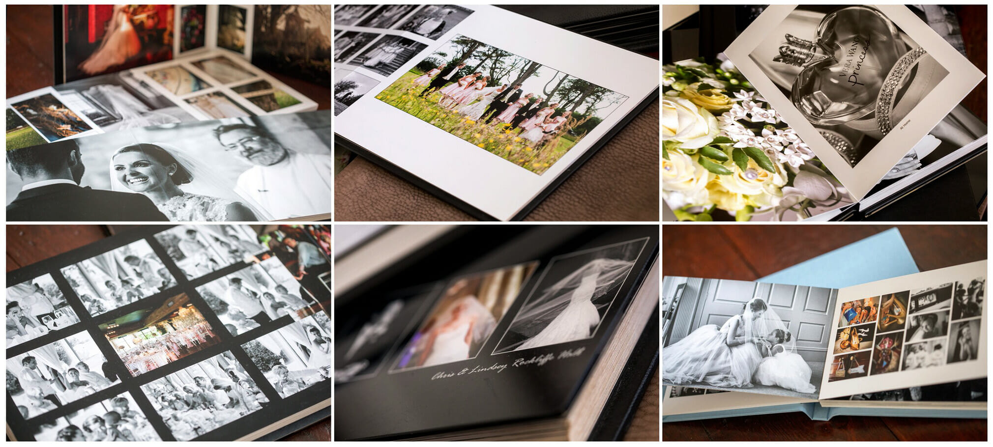 magazine wedding albums