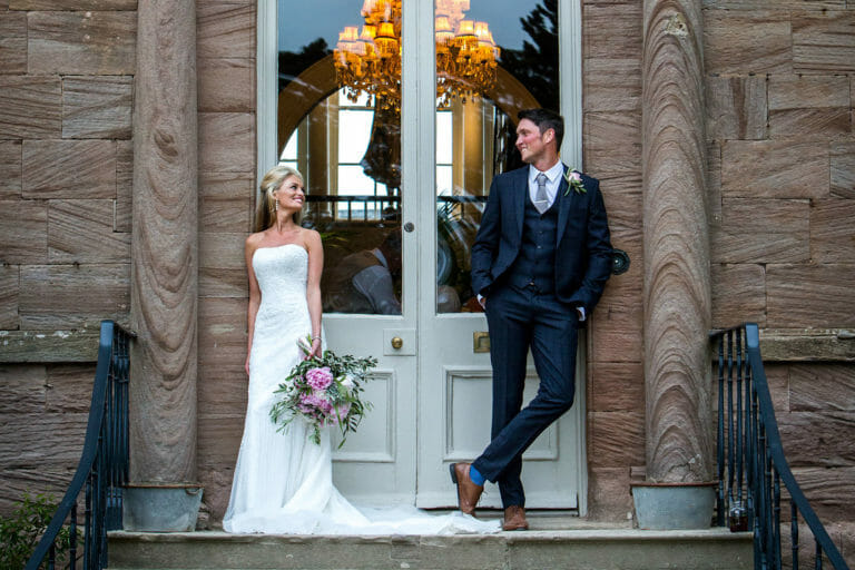 Newton Hall Wedding of Jessica and Steven