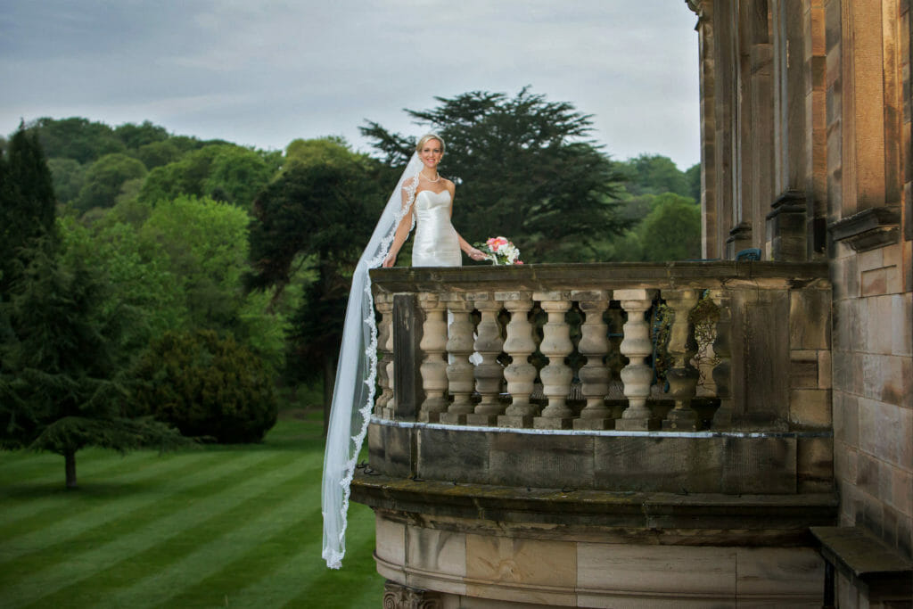 Beamish Hall summer wedding