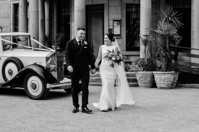Beamish Hall Wedding of Ashleigh & Gary