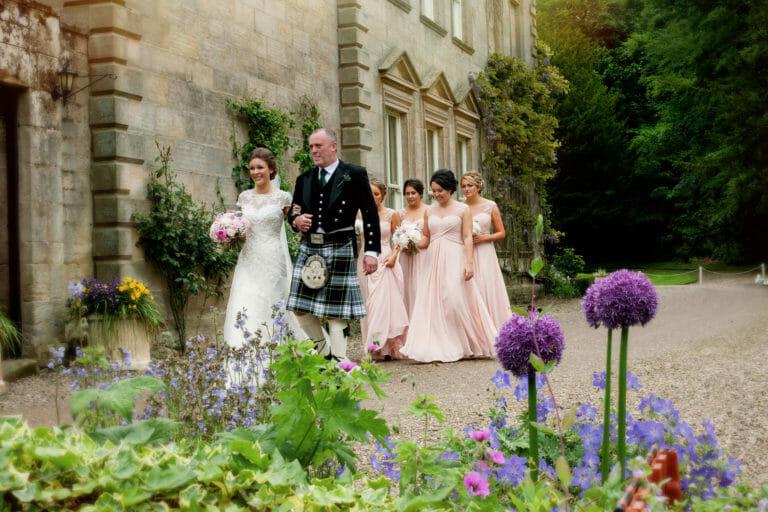 Eshott Hall Wedding of Emma & Kris Northumberland