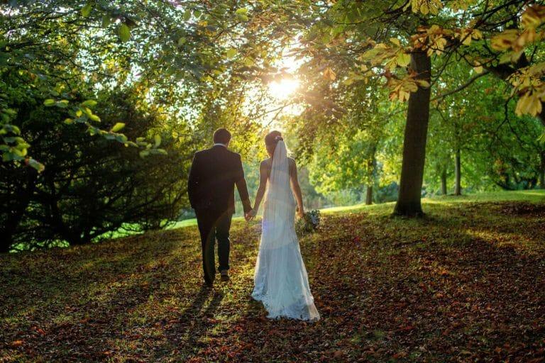 Wynyard Hall Autumn Wedding